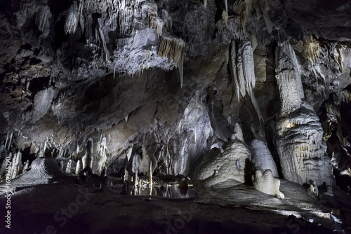 The Balcarka Cave in the Moravsky Kras,