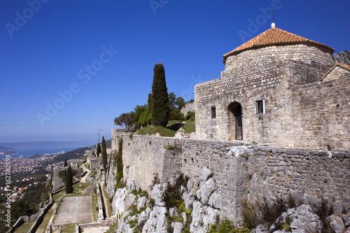 Klis fortress near Split, Croatia Poster
