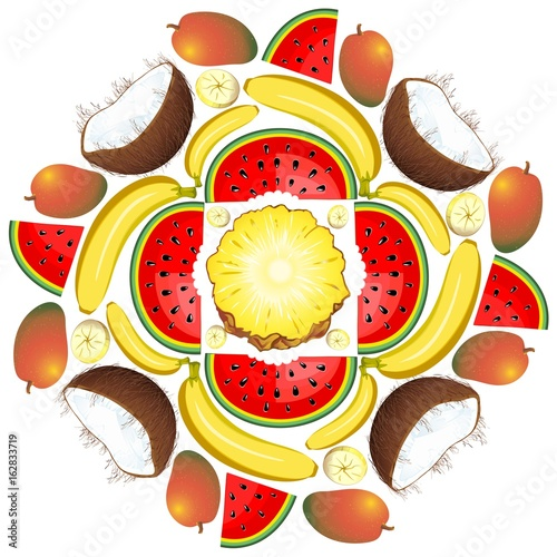 Mandala Summer Fruit and Juice 1