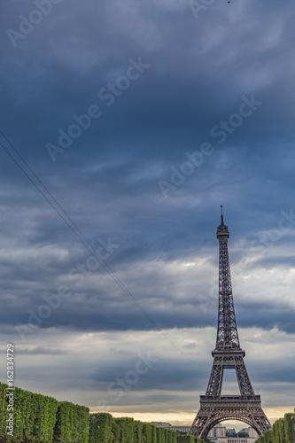 The Eiffel Tower symbol of Paris, France