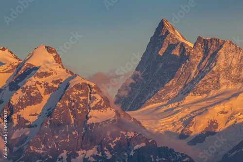 hauts sommets des Alpes bernoises