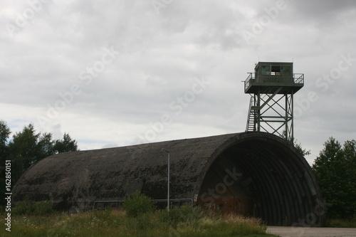 Shelter mit Wachturm