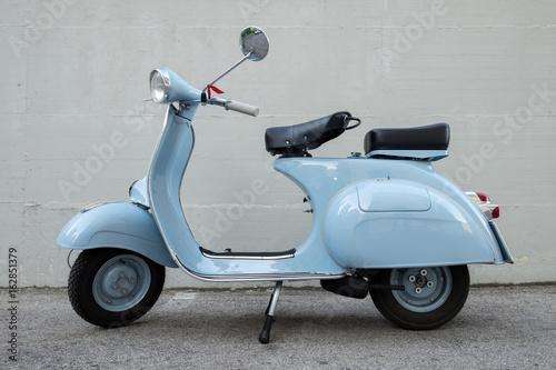 Fotobehang Scooter Vespa Piaggio 1962