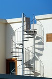 Modern house with spiral staircase