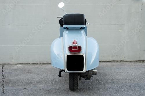 Foto op Canvas Scooter Vespa Piaggio 1962