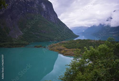 Lovanet River Norway Europe