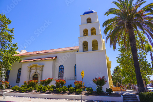 Beautiful church at San Diego Old Town State Historic Park
