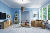 Attic floor design - 162877917