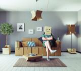Attic floor design - 162877926