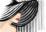 Elegant lady. fashion illustration - 162887994