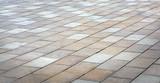 Brick stone sidewalk, pavement texture - 162892312