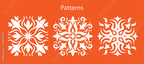 Flower patterns - 162893380
