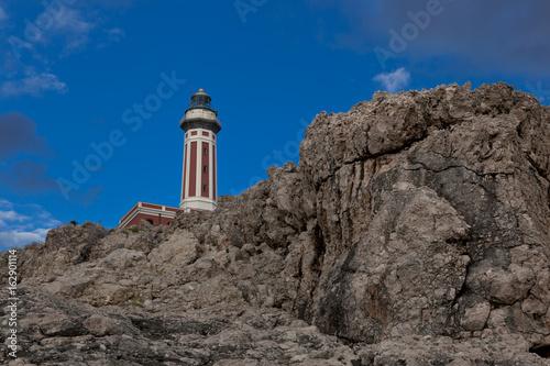Lighthouse on Punta Carena, Capri