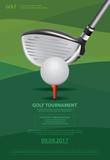 Poster Golf Vector I...