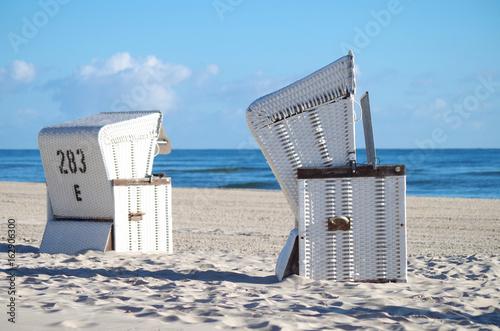 Strandkörbe an der Ostsee - 162906300