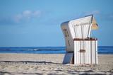 Strandkorb an der Ostsee - 162906578