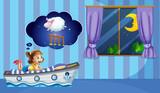 Dziewczyna liczĘ ... ca owce przed snem