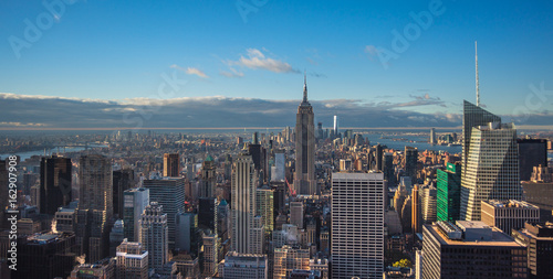 New York, Manhattan skyline Poster