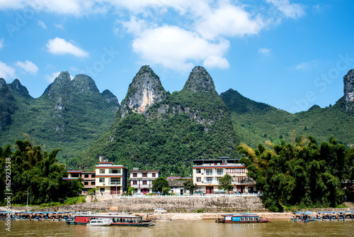 Staande foto Guilin Cruise from Guilin to Yangshuo
