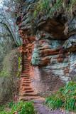 Peden's cove staircase.
