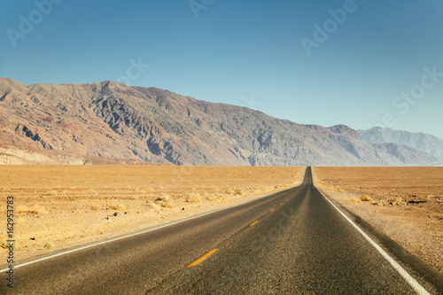 Leinwand Poster Highway in the American West, USA