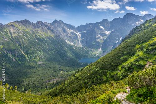 Zdjęcia na płótnie, fototapety na wymiar, obrazy na ścianę : Tatra mountains landscape, Morskie Oko
