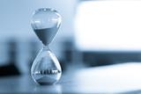 Sand clock, business time management concept - 162977171
