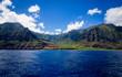 Kalalau Valley, Napali Coast From Water, Kauai, Hawaii