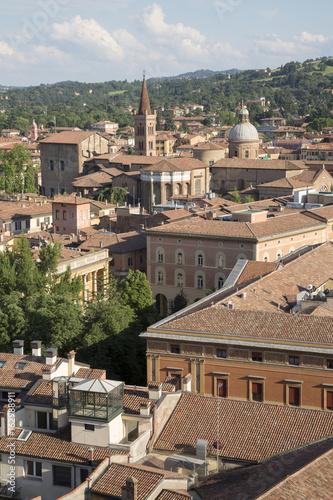Plagát Cityscape of Bologna; Italy