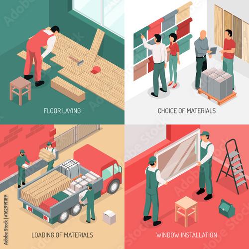 Isometric Renovation Design Concept - 162991189