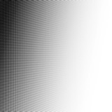 Fototapety Abstract halftone, minimalistic background from dots. Comic style backdrop, gradient halftone pop-art retro style. Template for ad, covers, posters, advertising actions.