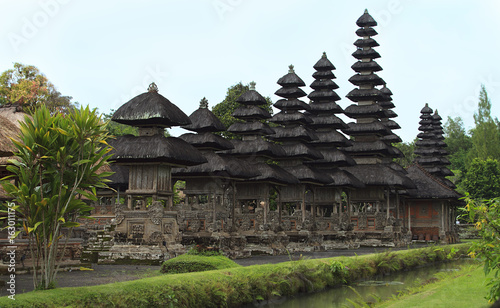 Royal Temple of Menwi (Pura Taman Ayun) is most beautiful temple in Bali, Indonesia