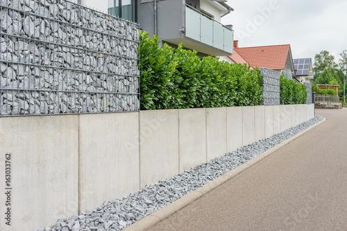 Leinwandbild Motiv Moderne Gartengestaltung
