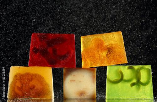 handmade backlit soap