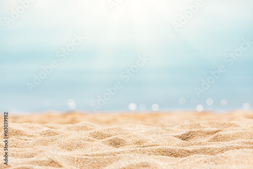 Tropical beach background - 163039982