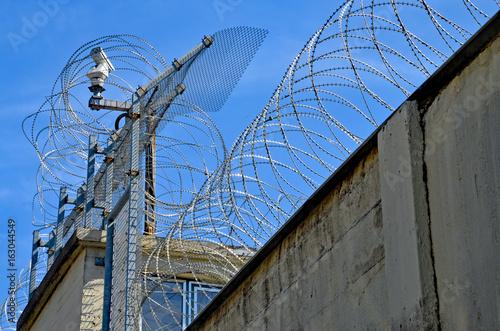 Gefängnis, Stacheldraht Poster