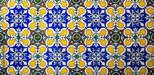 Textura, azulejo sevillano, cerámica, Sevilla, Andalucía, España