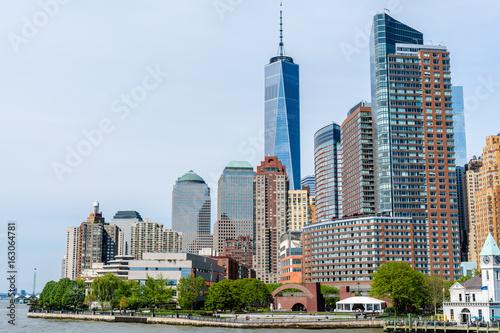 Skyline of Manhattan in New York City, USA Poster