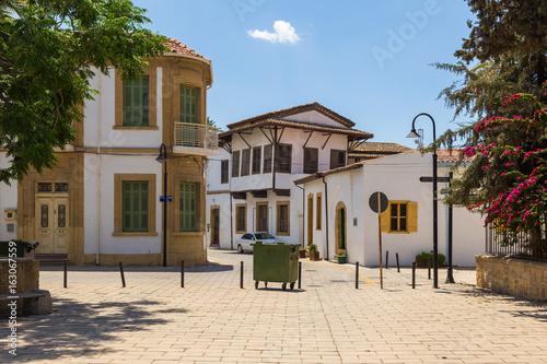Beautiful old town in Nicosia, Cyprus