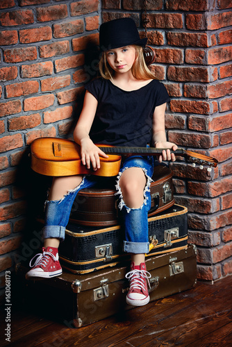 modern musical girl