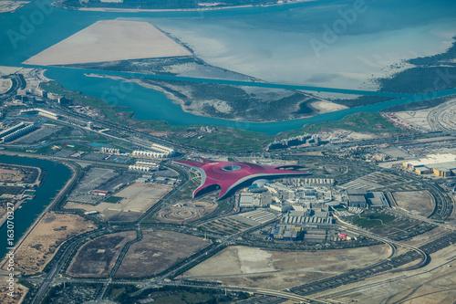 Plagát Yas Island, Abu Dhabi - Luftbild