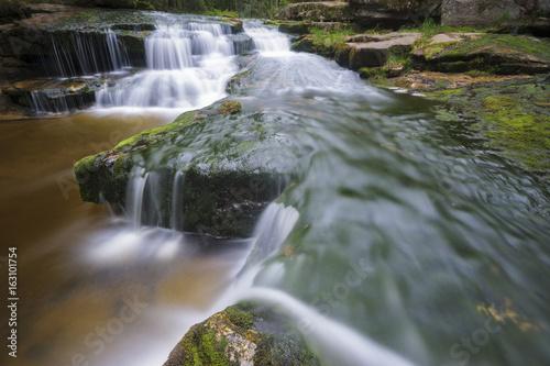 Cascades on a small mountain river
