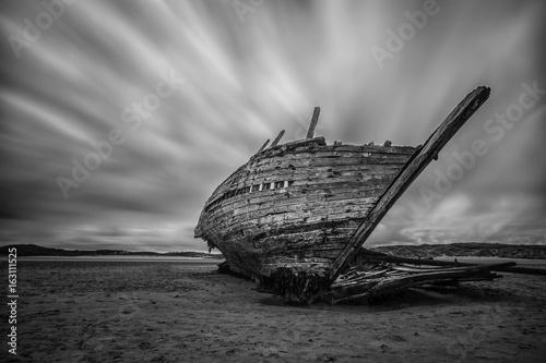 In de dag Schipbreuk Shipwreck Ireland
