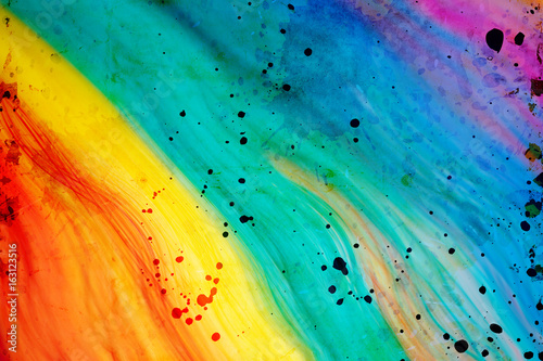 colorful abstract background - 163123516