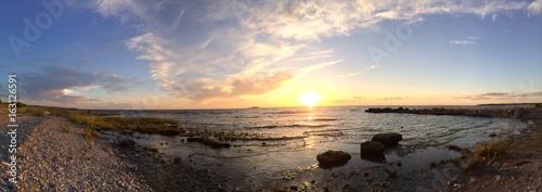 Sonnenuntergang auf Öland