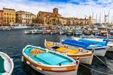 Port vieux de La Ciotat, Bouches-du-Rhône, Provence, France - 163130357
