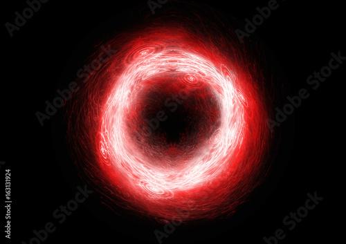 Hot burning plasma or ball lightnig