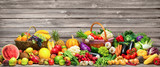 Fototapety Vegetables and fruits background