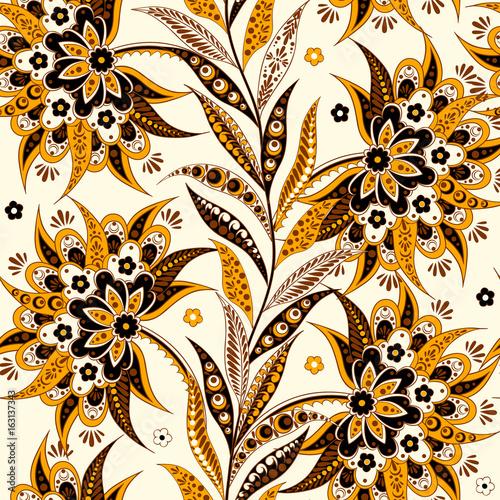 ludowe-kwiaty-wzor-etniczne-kwiatowy-ornament-wektor