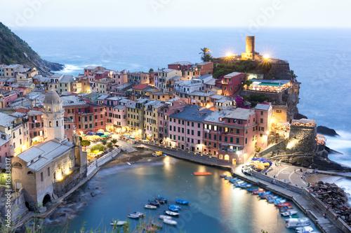 Vernazza - Italy, Cinque Terre by night